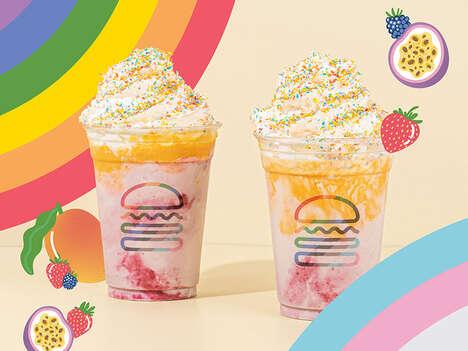 LGBTQ-Supporting Rainbow Shakes