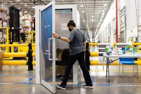 eCommerce Employee Wellness Booths