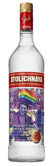 LGBT-Celebrating Vodkas