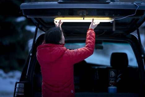 Inflatable Outdoor Light Fixtures