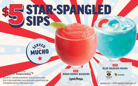 Celebratory Beverage Promotions