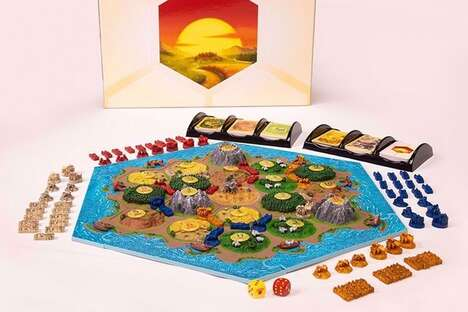 3D Topography Board Games