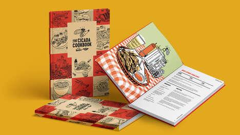 Hot Sauce Cicada Cookbooks