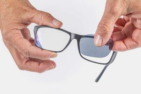 Aftermarket Eyewear Tinting Films