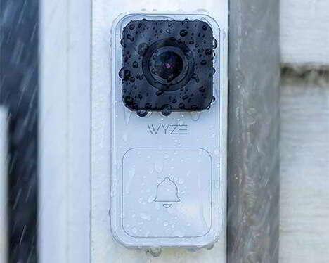 All-Weather Security Camera Doorbells