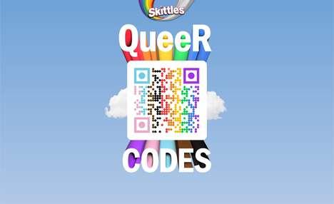 LGBTQ-Supporting QR Codes