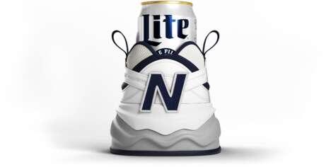 Shoe-Shaped Beer Koozies