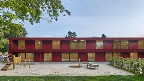 Repurposed Air-Raid Shelter Daycares