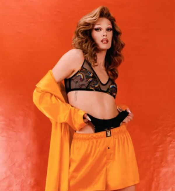 Celebrity-Backed Pride Lingerie Collections