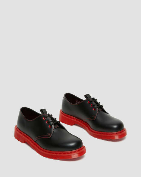 Red-Soled Leather Shoes
