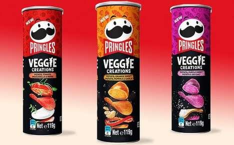 Veggie-Inspired Snacking Crisps