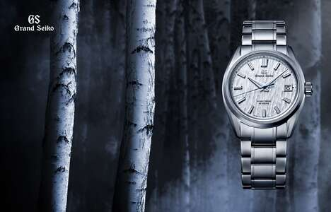 Pristine Nature-Inspired Luxury Timepieces