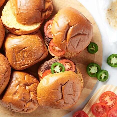 Spice-Infused Hamburger Buns