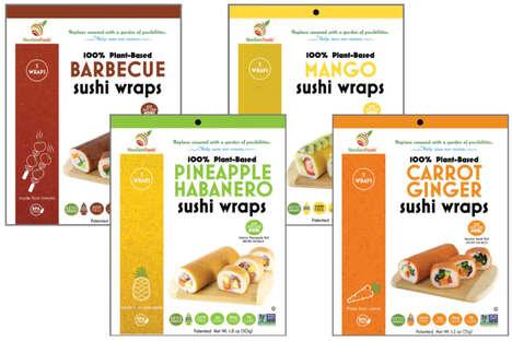 Plant-Based Sushi Wraps