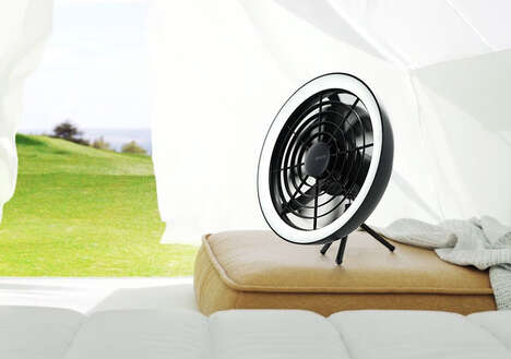 Light-Equipped Cooling Fans