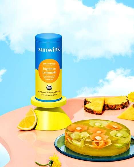 Digestion-Friendly Lemonades