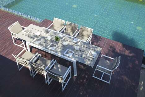 Expandable Outdoor Dining Furniture