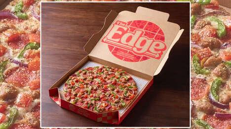 Nostalgic 90s Thin-Crust Pizzas