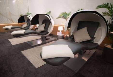 Airport Lounge Sleep Pods