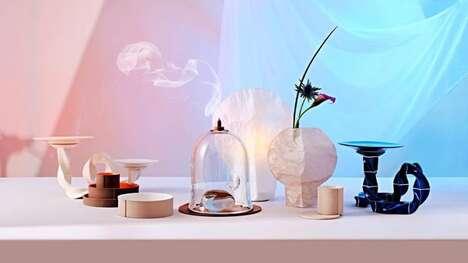 Waste-Reducing Translucent Vases