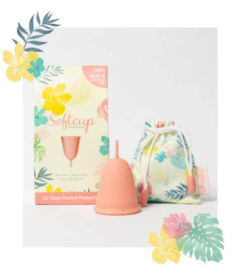 Tapered Soft Menstrual Cups