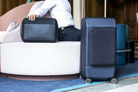 Magnetic Connectivity Luggage Collections