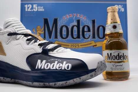 Beer-Branded Sneaker Collaborations