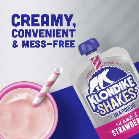 Squeezable Milkshake Flavor Additions