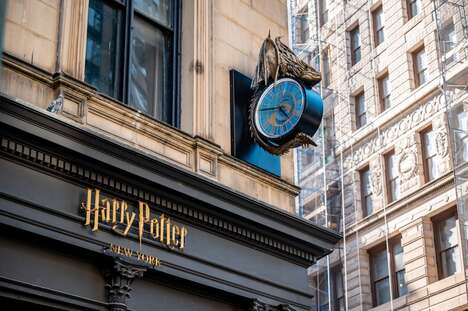 Wizard-Themed Retail Experiences
