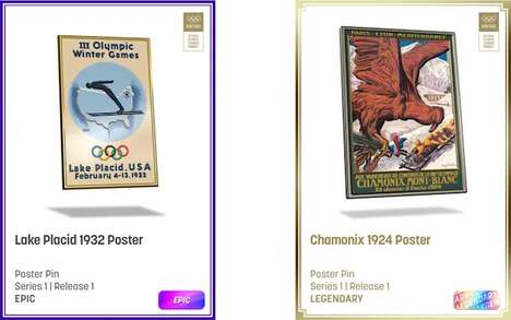 Digital Olympic Collectibles