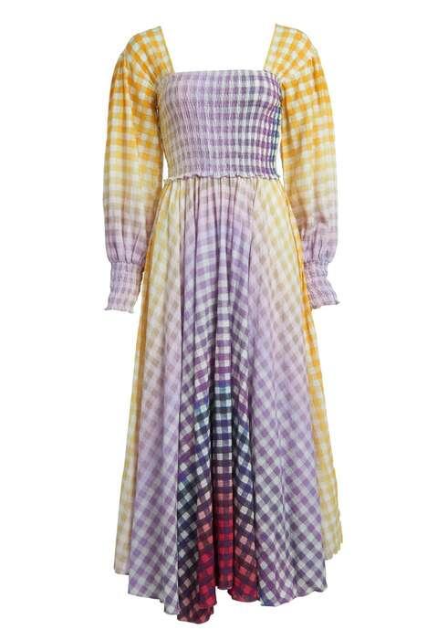Striking Cotton Dress Silhouettes