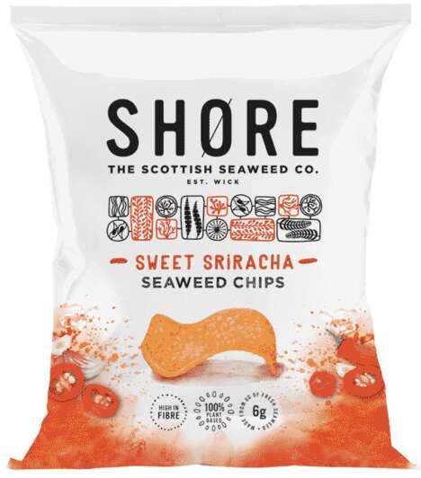 All-Natural Seaweed Chips