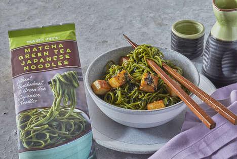 Matcha-Infused Soba Noodles