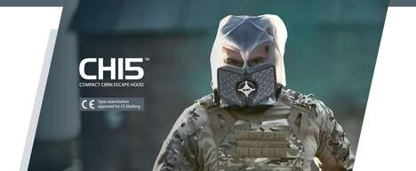 Tactical Compact CBRN Wearables
