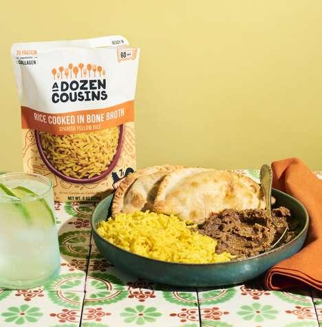 Collagen-Rich Rice Packets