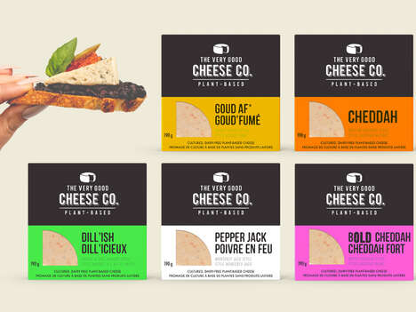 Dairy-Free Plant-Based Cheeses