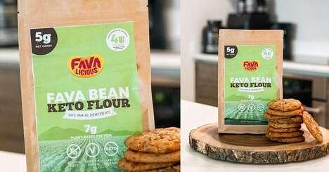 Keto-Friendly Fava Bean Flours
