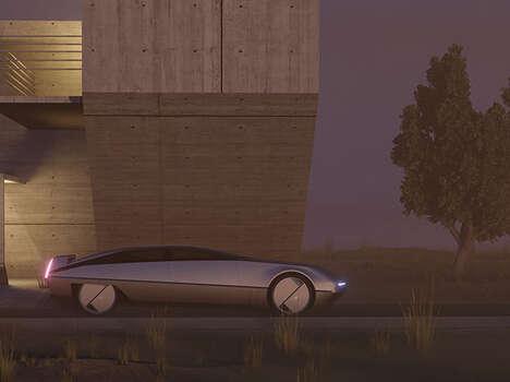 Retro Futurism Vehicle Designs