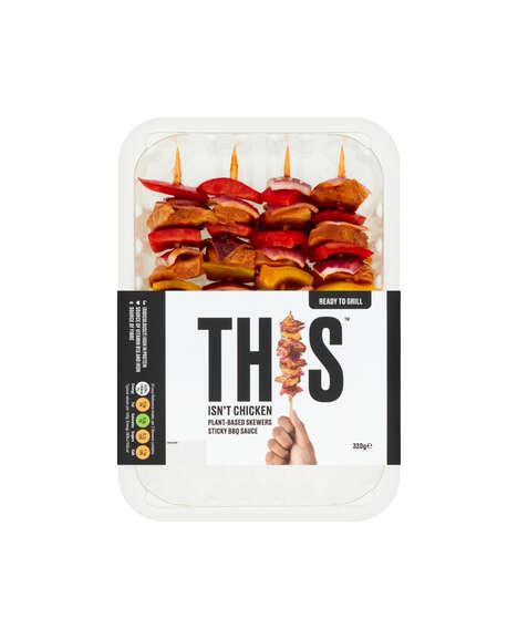 Grill-Ready Meatless Skewers