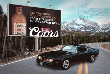 Beer-Branded Dream Car Searches