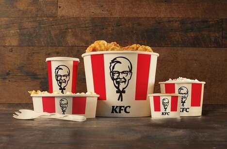 Home-Compostable Chicken Buckets