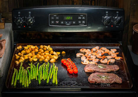 Expansive Stove Cooking Surfaces