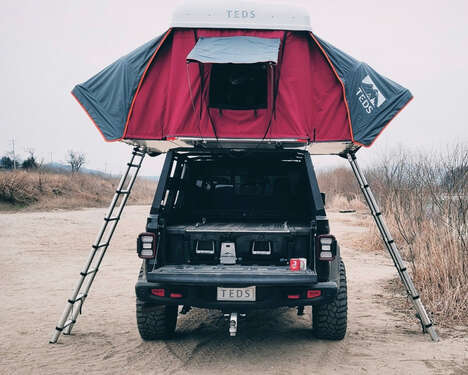 Rugged Expandable Rooftop Tents