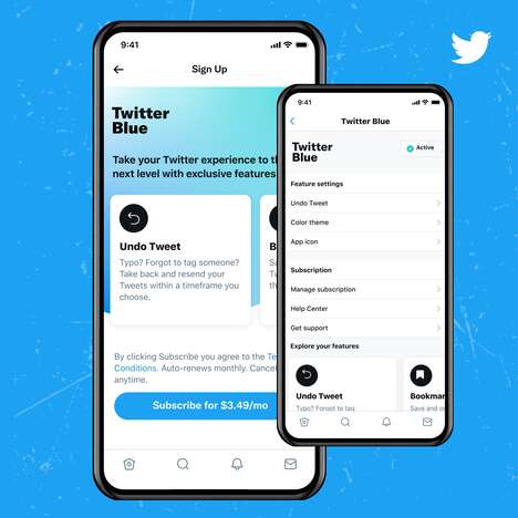 Subscription-Based Social Media Features