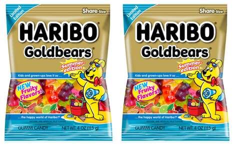 Summery Gummy Candies