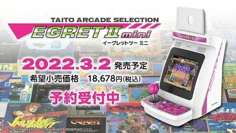 Retro Mini Arcade Machines