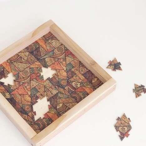Eco-Friendly Cork Puzzles