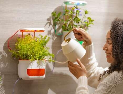 Wireless Self-Watering Indoor Planters