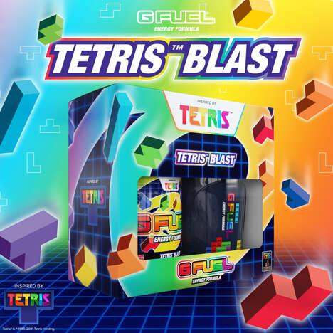 Retro Gaming Energy Drinks