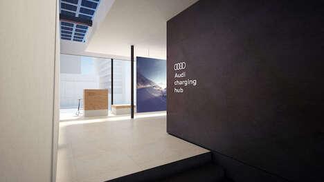 EV Charging Lounges